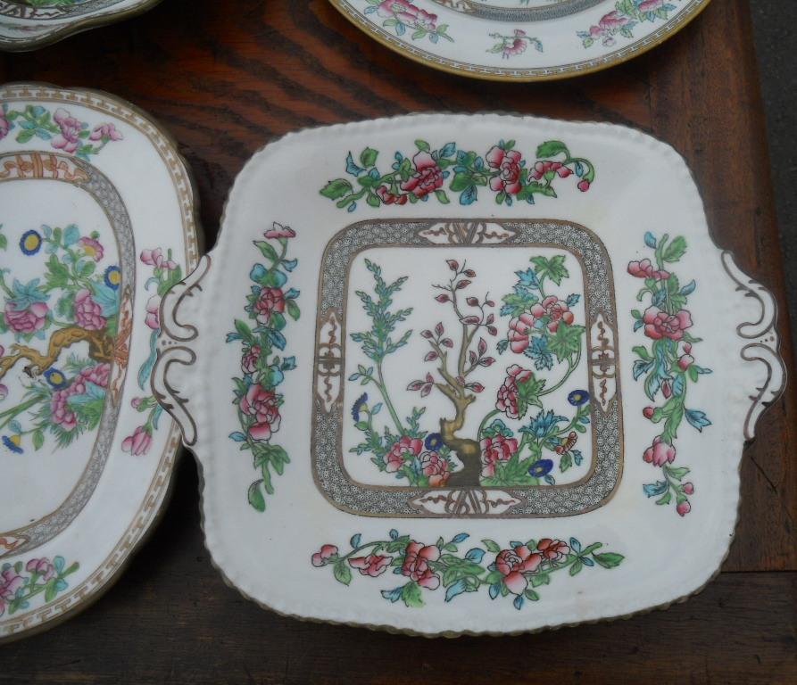 Coalport Indian Tree Pattern China